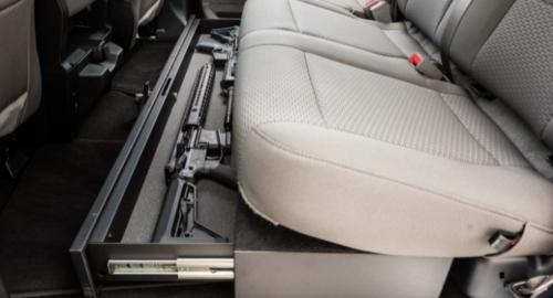 Hidden Vehicle Gun Storage